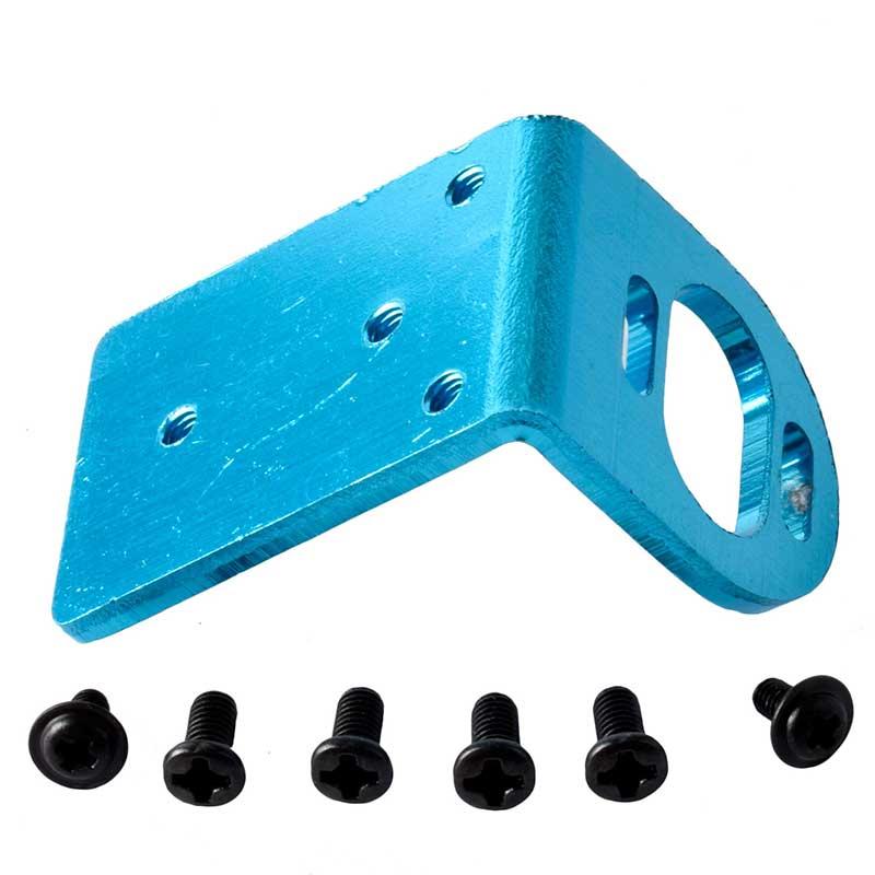 Blue Aluminum RC1:18 380 390 Motor Adjustable Mount Bracket for WL Toys
