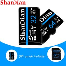 ShanDian-tarjeta Micro SD para teléfono, memoria Flash de 128 GB, 32GB, 64GB, 256GB, 16G, 400GB, TF, 64, 128 gb