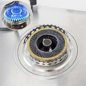 Stove-Torch Case-Accessories Gas-Cooker Round-Cover Mesh Energy-Saving Stainless-Steel