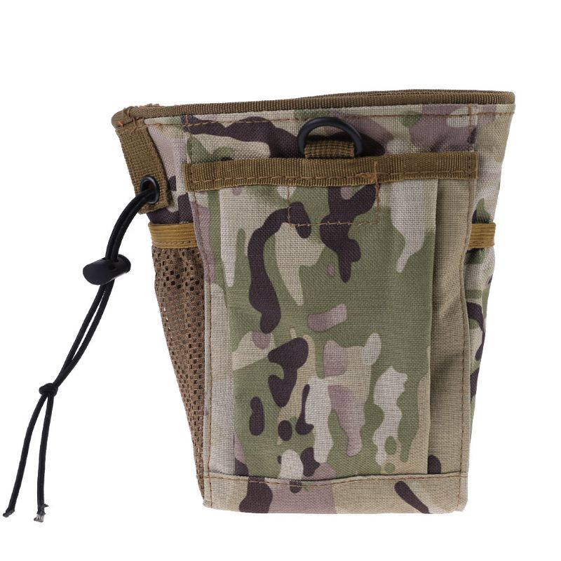 Metal Detecting Finds Recovery Bag Pouch Digger Gold Treasure Waist Camo Luck