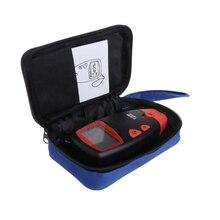 Двухконтактный цифровой измеритель влажности древесины, измеритель влажности древесины, гигрометр, детектор влажности древесины, ЖК-дисплей с сумкой для хранения инструментов