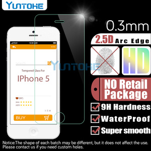 Image 3 - 100 개/몫 강화 유리 아이폰 12 11 프로 XS 최대 XR X 8 7 6 5 4 화면 보호기 소매 상자와 안티 스크래치 수호자