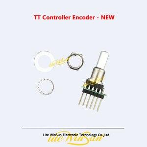 Peças de controlador dmx tiger console toque tt controlador codificador botão dmx512 controle acessórios
