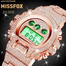 Dropshipping Original MISSFOX Seiko Movt Digital Watch For M