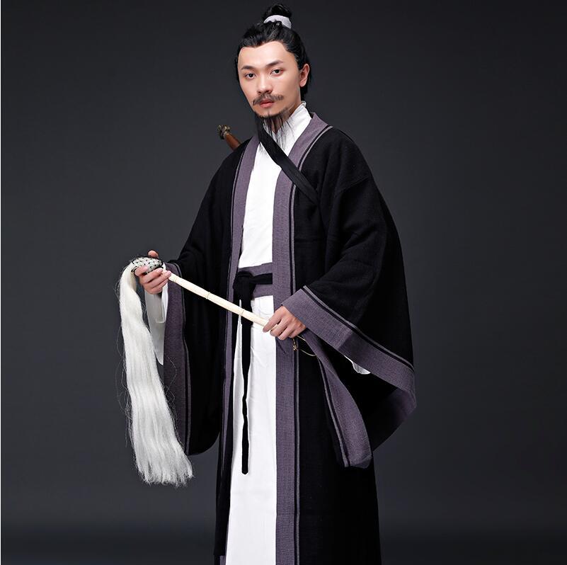 Ancient Chinese Hanfu Taoist Priest Men Clothing 2