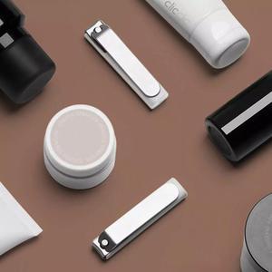 Image 5 - Xiaomi Mijia coupe ongles en acier inoxydable avec couverture anti éclaboussures tondeuse soins de pédicure coupe ongles lime professionnelle Cli