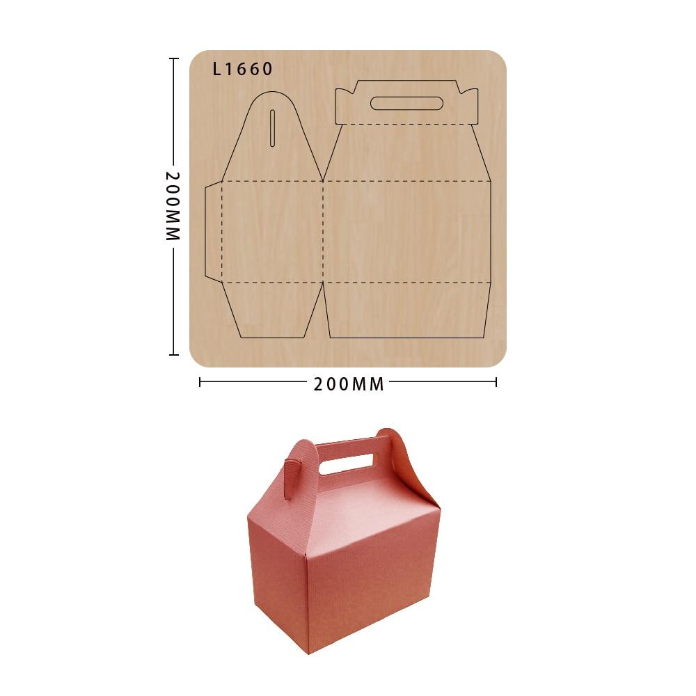Die Cut DIY box handmade Scrapbooking New Dies For Wooden Die-cutting Template Cutting Mold Wood Die