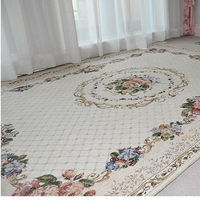 Modern Concise Style Living Room Carpets Flower American Bedroom Carpet Home Coffee Table Rug Study Room Europe Carpet Floor Mat