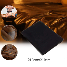 Adult Waterproof 210cm Bed Sheets Sex PVC Vinyl Mattress Cover Allergy Relief Bed Bug Hypoallergenic Adult Game Bedding Sheets