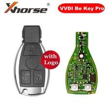 Xhorse vvdi ser chave pro versão melhorada com escudo chave inteligente 3 botão para benz com logotipo obter 1 livre vvdi mb bga token