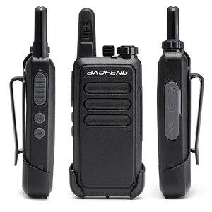 Image 2 - 2 pièces Baofeng BF C9 Portable Radio Mini talkie walkie 400 470MHz UHF VOX USB charge ordinateur de poche bidirectionnel jambon Radio communicateur