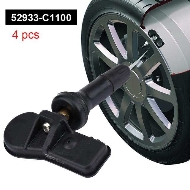 Tire Pressure Sensor for Hyundai Tucson 2019 52933 C1100 52933C1100 for Hyundai Sonata Santa Fe 2019 Monitoring 2016 2017 2018