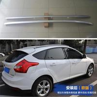 Aluminum Alloy Paste Installation Roof Rack baggage luggage For Focus Ford Hatchback 2012 2018