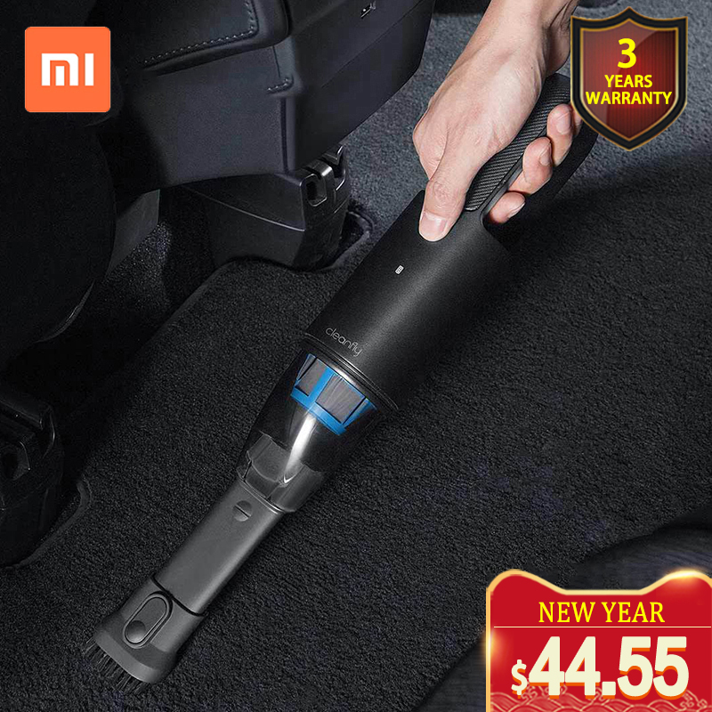 XIAOMI MIJIA Cleanfly FVQ Portable Car Hand Helded Vaccum Cleaner for home wireless Mini Dust Catcher Collector 5000Pa Suction