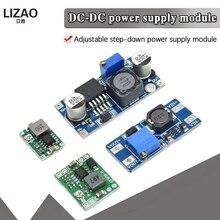 DC DC 전압 안정화 전원 공급 장치 모듈 MT3608 MP1584EN LM2596S ADJ 가변 부스트 및 벅 전압 조정기 모듈