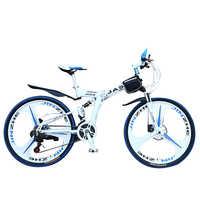 JASIQ-Bicicleta de Montaña plegable de 26 pulgadas para hombre, bici de carretera de velocidad Variable, 21/24/27 velocidades