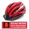 Victgoal capacetes de bicicleta led das mulheres dos homens esportes polarizados óculos de sol luz traseira mtb mountain road ciclismo capacetes 12