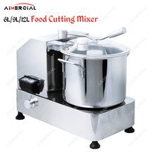 HR6 commercial food cutting mixer copper motor cutter machine large capacity vegetable/meat Stuffing Mixer