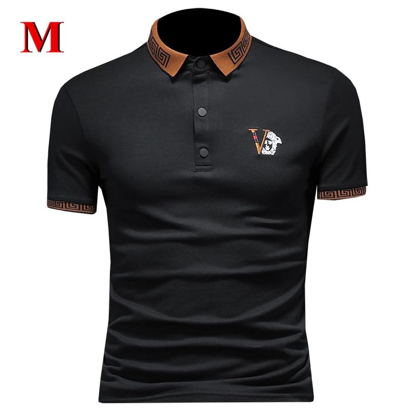 MENNE 2020 New Tshirt Men Shirt Short Sleeve POLO Shirt Men