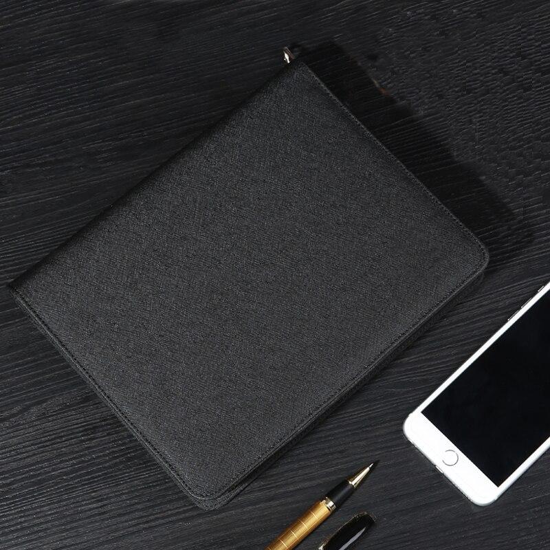 Многофункциональный офисный блокнот на молнии, портфель для документов, папка для менеджера, Канцтовары, новинка 2020