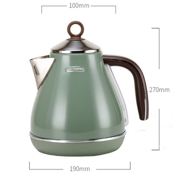 Vintage Electric Kettle 304 Stainless Steel Automatic Power off Household  kitchen appliances electric teapot 4