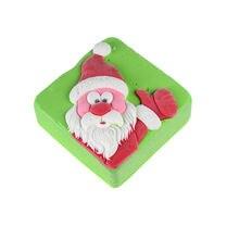 Форма для изготовления шоколада с Санта Клаусом