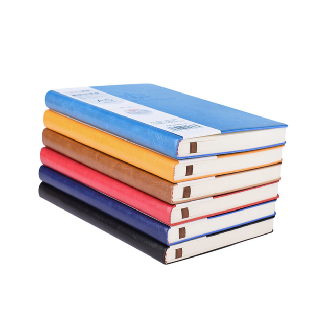Hot Discount #c0c9 - Color Leather Notepad Notebook Printing Student Book  A5 Simple Maple Leaf Fashion Design Business Office 32K Notebook 96 Sheets  | Cicig.co