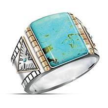Мужское кольцо в ретро стиле роскошное властное модное классическое