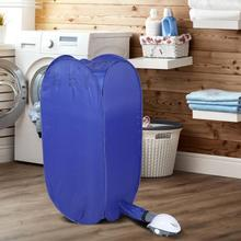 Dryer Heater-Hanger Laundry-Clothing Electric Portable Drying-Bag Folding 800W Travel
