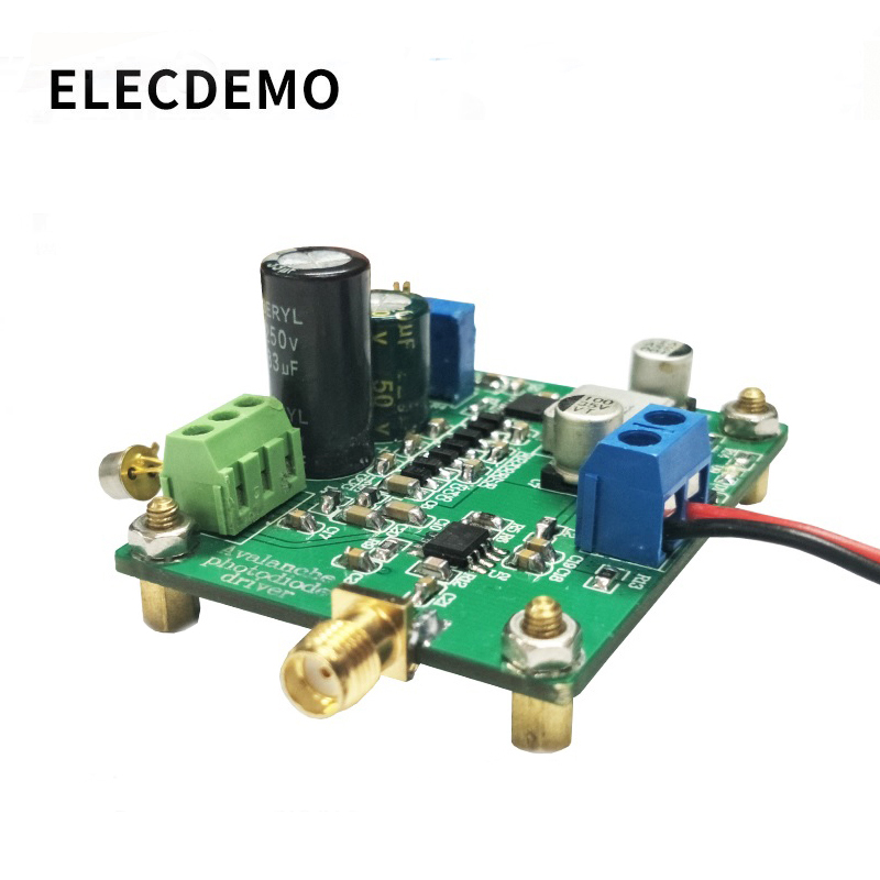 APD IV conversion amplifier module APD avalanche photodiode drive photoelectric signal current to voltage Function demo Board-in Demo Board Accessories from Computer & Office