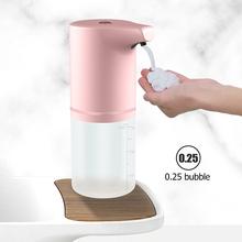 Bezdotykowy dozownik do mydła automatyczna indukcja piankowy dozownik mydła dozownik do mydła USB ładowanie inteligentny maszyna do spieniania na podczerwień dozownik do mydła z czujnikiem dozownik do mydła tanie tanio CN (pochodzenie) Dozownik mydła pianka NONE Automatyczny dozownik mydła Dozowniki mydła w płynie