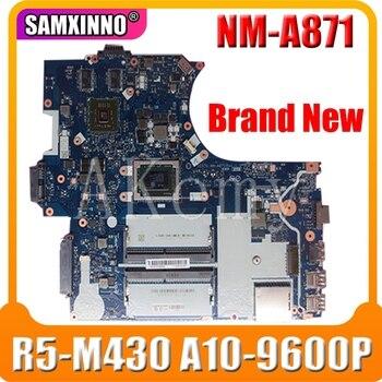 FRU 01HW713 CE575 NM-A871 mainboard For lenovo ThinkPad E575 15.6 inch laptop motherboard AMD A10-9600P DDR4 Radeon R5 M430