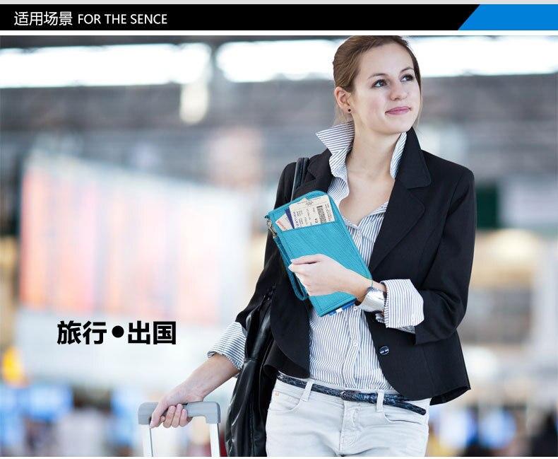 viagem documento organizador cartão de crédito pacote bolsa