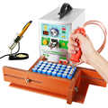 SUNKKO 709AD + 71B точечный сварщик 3.2KW точечная Импульсная Сварка машина постоянная температура паяльник ручка для литиевой батареи