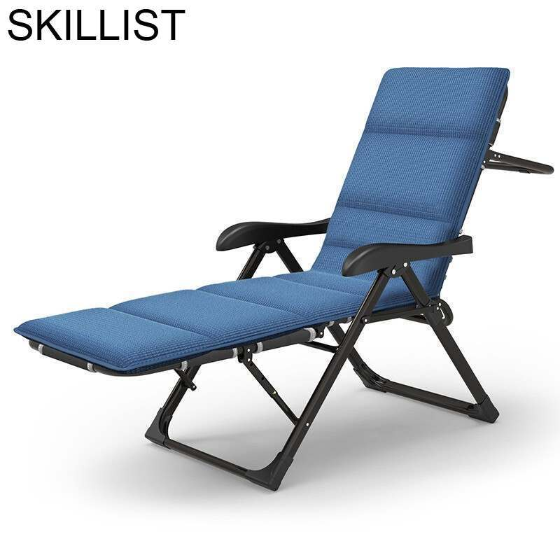 Para Balcony Recliner Chair Plegable Mueble Fauteuil Cama Camping Lit Salon De Jardin Folding Bed Garden Furniture Chaise Lounge