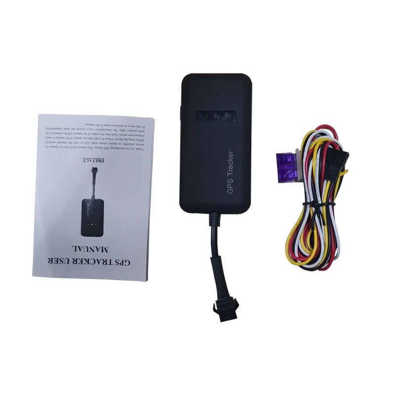 Автомобильный GPS-трекер GT02A, устройство слежения за транспортными средствами, GSM GPRS, пульт дистанционного управления со встроенным аккумуля...