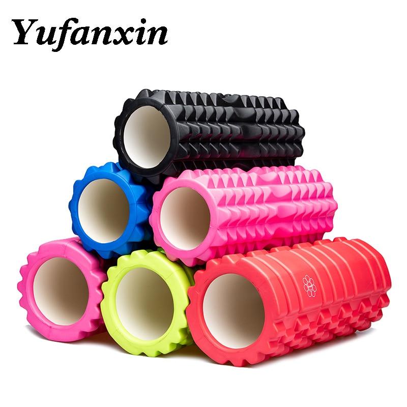 Yufanxin Foam Roller Massage Column Equipment Fitness Pilates Gym Muscle Back Yoga Block Stick Body Relax 33*14 Wholesale