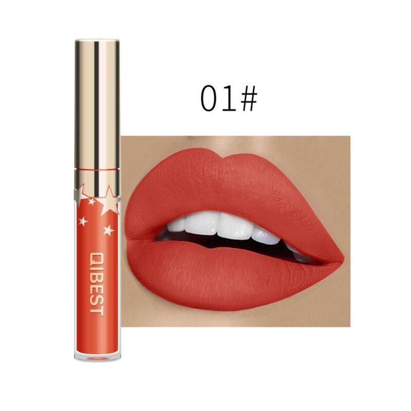 24 Colors Lips Makeup Lipstick Lip Gloss Long Lasting Cosmetic Lipstick Red Lip Matte Lipstick Waterproof Lip Glaze TSLM2