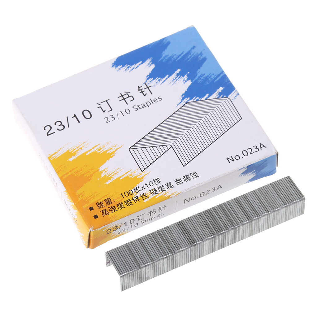 Drop Ship 1000Pcs/Box Heavy Duty 23/10 Metal Staples For Stapler Office School Supplies Stationery