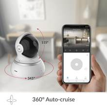 YI Dome Camera 1080p HD Cloud &Memory Card 360 camera Pan/Tilt Zoom IP Camera Home Security Surveillance System Night Vision