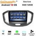 Ouchuangbo android 10,0 Автомобильный мультимедийный gps радио для 10,1 дюймов JAC уточнить M4 DSP 8 ядер 6 Гб RAM 128 ГБ ROM