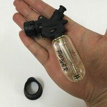 Горячая наружная ветрозащитная сигарета курительная трубка бутан зажигалка фонарь jet зажигалка