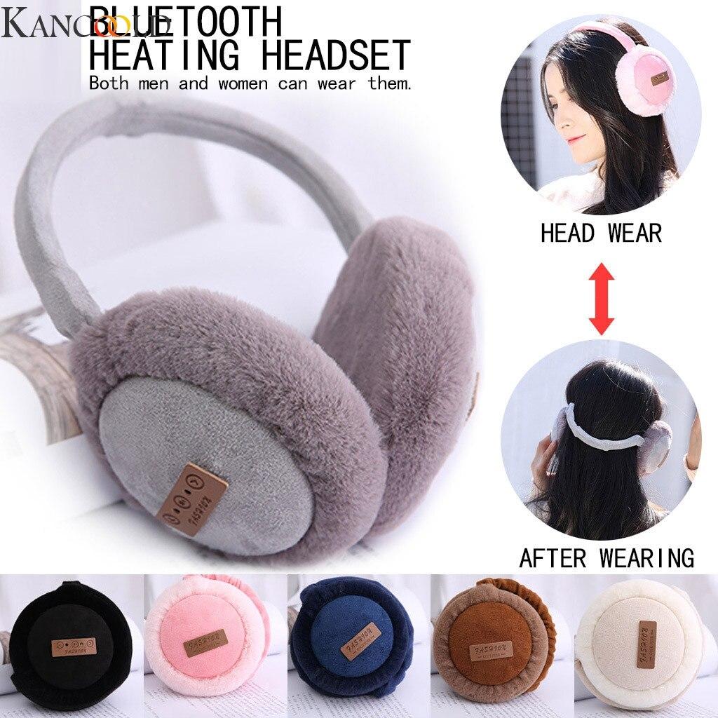 KANCOOLD Christmas Gifts Unisex Bluetooth Listening Music Earmuff Ear Protectors Smart Wearing New Earmuffs New Arrival