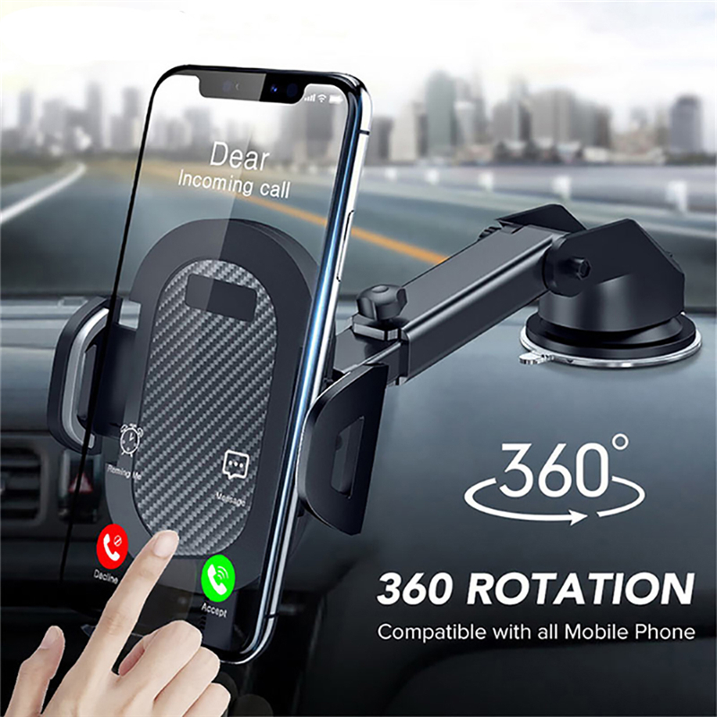 2020 New Group Vertical Windshield Gravity Sucker Car Phone Holder For IPhone X 11 8 Holder Car Mobile Support Smartphone Stand