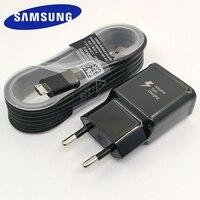 Samsung caricabatterie rapido adattatore di alimentazione USB 9V/1.67A cavo Micro USB 1.5M a ricarica rapida per Galaxy S6 S7 Edge A3 A5 A7 2016 A10 nota 5