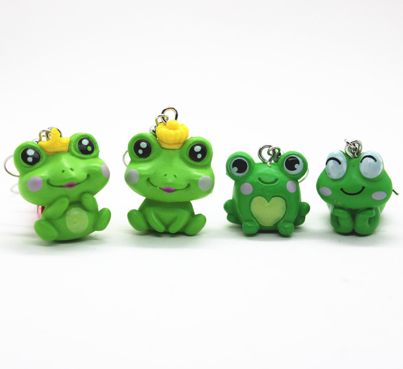 Модные Имитационные мини-серьги в форме лягушки в форме короны, женские креативные милые серьги в форме лягушки, ювелирные изделия, персона...