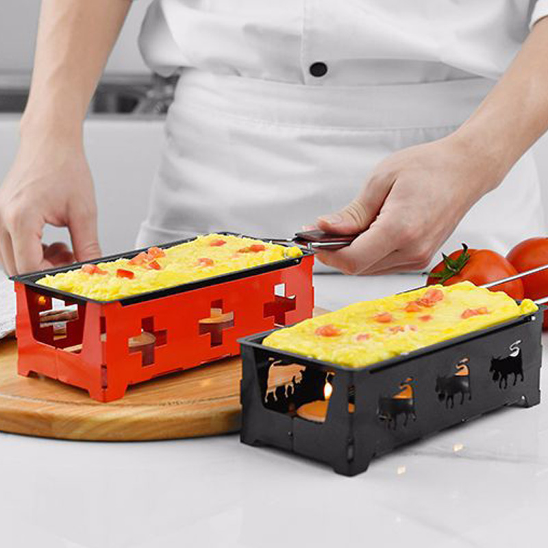 Mini Cheese Grill Non-Stick Baking Tray Butter Cheese Barbecue Dish Practical Cheese Roasters Household BBQ Baking Tools image