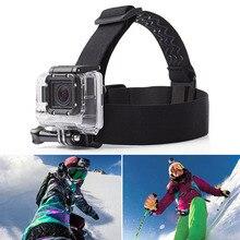 Универсальный Камера Эластичный регулируемый ремешок для головы для ремень крепления ремня для экшн-Камеры Gopro Hero 6/5/4/3 SJCAM черный действие Камера аксессуары