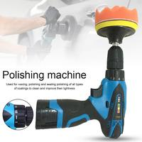 16.8v Automatic Car Wax Polisher Car Paint Care Tool Polishing Machine Sealing Polishing Sanding Waxing Tools Car Accessories