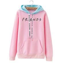 OEAK 2019 New Autumn Printing Hoodies Sweatshirts Harajuku Crew Neck Sweats Women Clothing Feminina Loose Outwear Fall